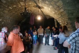 der alte Bierkeller der Burg