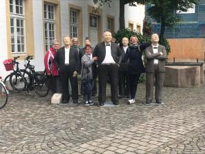 Während des Alternativprogramm in der Altstadt von wiedenbrück