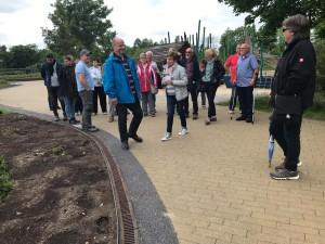 Besichtigung des Gartenschauparks in Rietberg