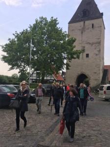 Führung um die Burg und Kirche in Stromberg